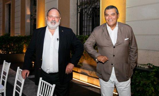 Paolo Marchi e Claudio Ceroni, i due fondatori di Identità Golose