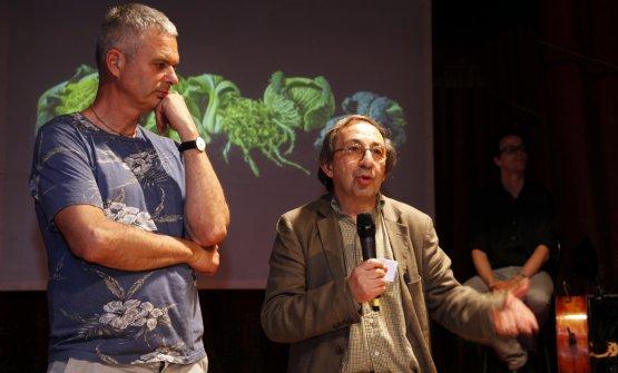 Pietro Leemann e Gabriele Eschenazi