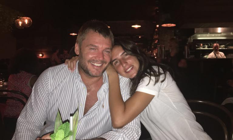 Tyron Simon, 38enne ristoratore australiano di Bri