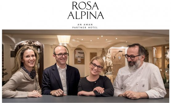Ursula Pizzinini, Hugo Pizzinini, Stefania Bellé e Norbert Niedekofler