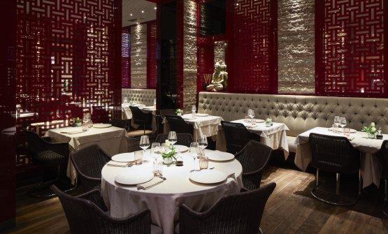 L'elegante sala del Bon Wei