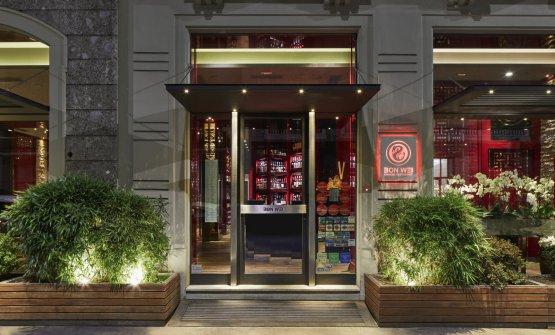 L'esterno del Bon Wei in via Castelvetro a Milano