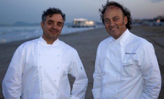Quelli di Mauro Uliassi e Moreno Cedroni sono i due volti più celebri dell'alta ristorazione marchigiana