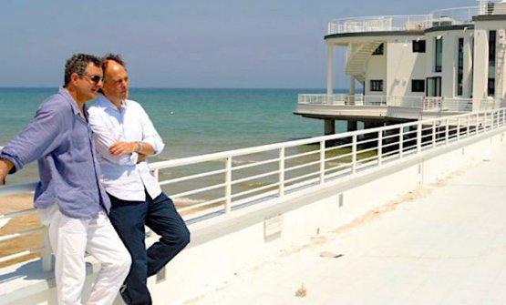 Mauro Uliassi e Moreno Cedroni in una foto d'a
