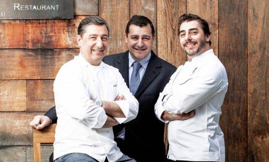 Joan, Josep e Jordi Roca
