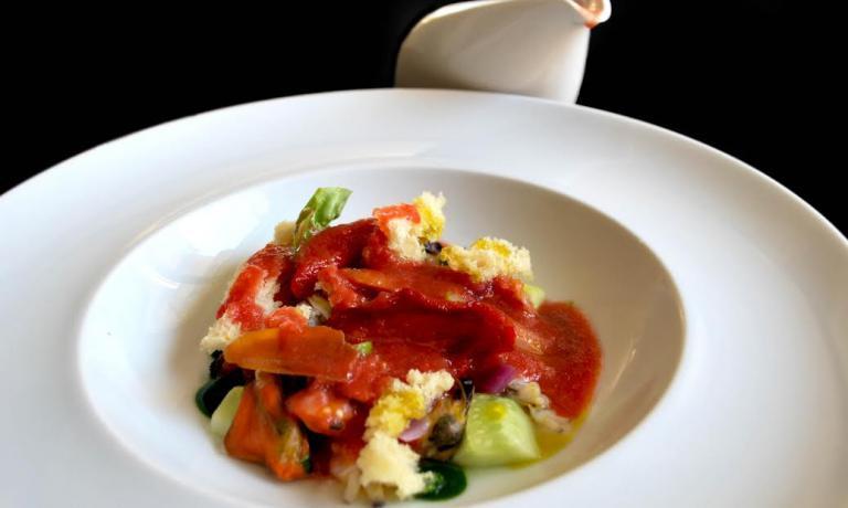 La Panzanella di Mare di Lele Usai aprirà il menu dei suoi due pranzi a Identità Expo
