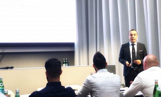 Alessandro Fadda, coordinatore delCorso Manager