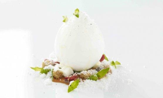 Caprese dolce e salato, piatto firmadi Andrea Aprea