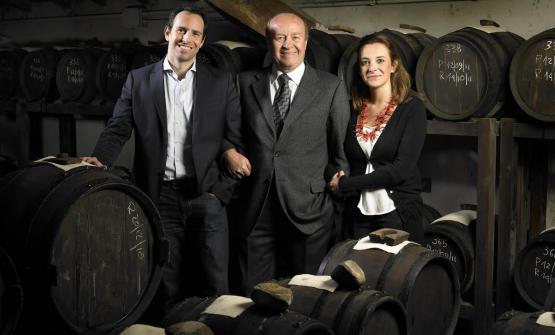 Claudio, Luciano e Francesca Giusti