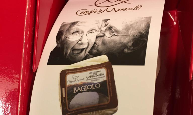 Bagiolo: un formaggio che nasce da un bacio. E che dal 2013 al 2016 si è aggiudicato il Merano Culiaria Award del Merano Wine Festival, mentre nel 2016 ha ricevutoil secondo premio di AlmaCaseus