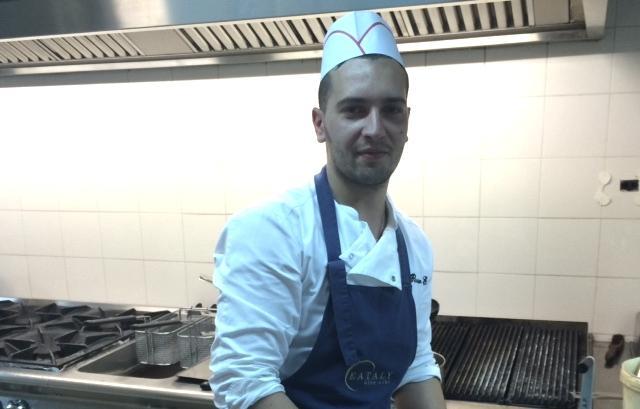Elia Russo, 28 anni, per otto anni con Massimo Mantarro a Taormina, � ora lo chef del ristorante Le dodici fontane, nel resort Villa Neri di Linguaglossa