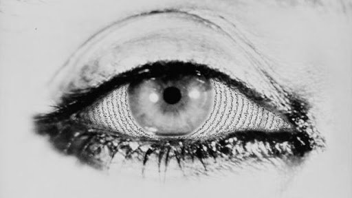 The eyes of women, in a photo byShirin Neshat