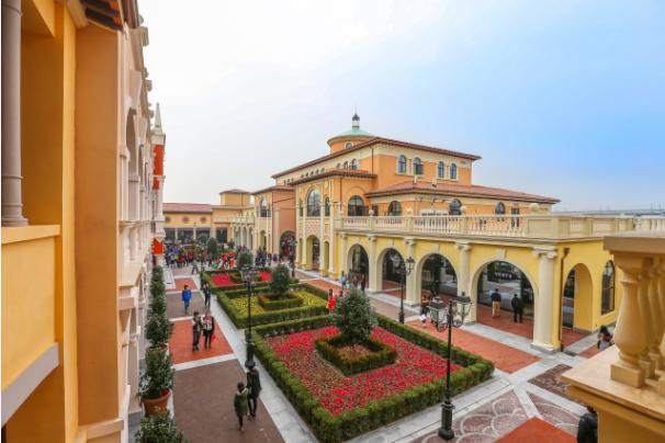 IlFlorentia Village Luxury Outlet Store di Tianjin, dove c'è il Bella Vita Restaurant di Samuele Rossi
