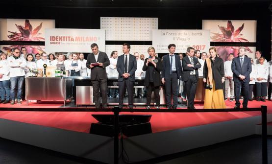 I rappresentanti di East Lombardy a Identità Milano