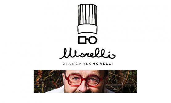 Il logo del ristorante riprende la passione di Morelli per gli occhiali, ormai è un suo simbolo. Ne ha rivendicato scherzosamente la primogenitura, quando gli abbiamo proposto un confronto con quelli di Franco Aliberti e Giorgio Damini