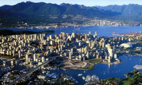 Vancouver, circa 600mila abitanti, è il centro pi