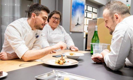 All'assaggio con Simone Maurelli, da poco insediatosi come resident chef di Identità Golose Milano