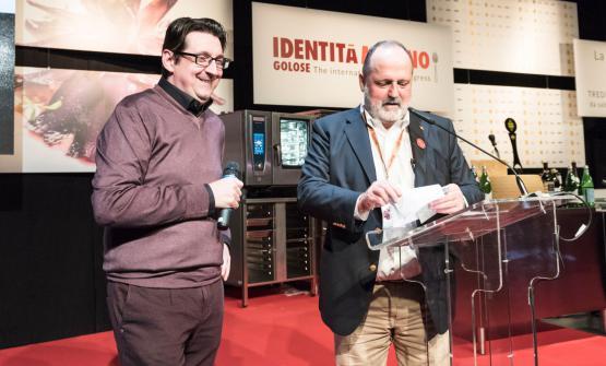 Paolo Marchi sul palco milanese di Identità Golos