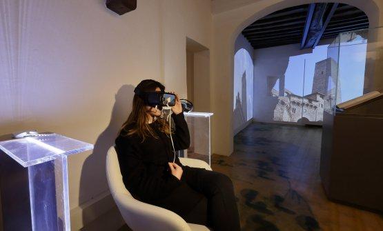 Uno dei visori per la realtà virtuale