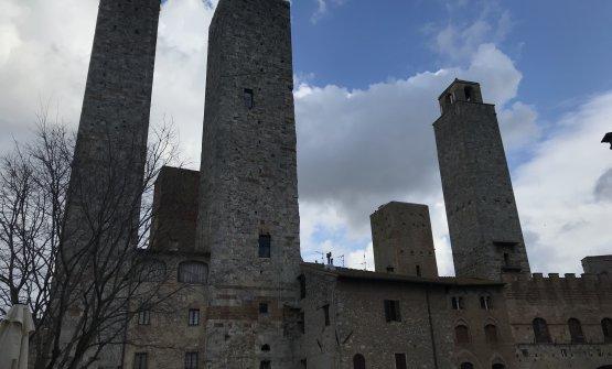 Le splendide torri di San Gimignano