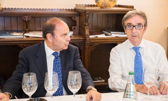 Vespa con Riccardo Cotarella