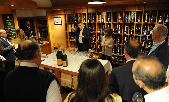 Dominique Demarville, chef de cave di Veuve Clicquot, presenta il nuovo champagne