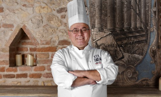 Vincenzo Di Grande, chef at the new Osteria del Gu