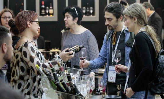 Quattro giorni dedicati ai professionisti del vino(foto Ennevi/Veronafiere)