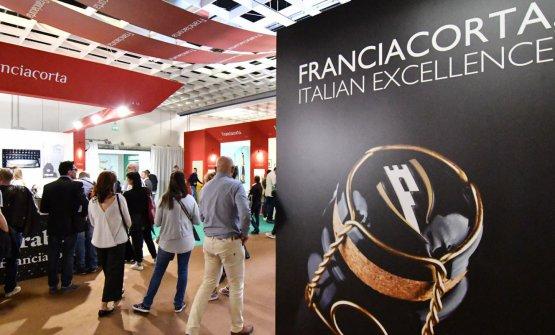 I produttori di Franciacorta sono tra i più ricercati (foto Ennevi-Veronafiere)