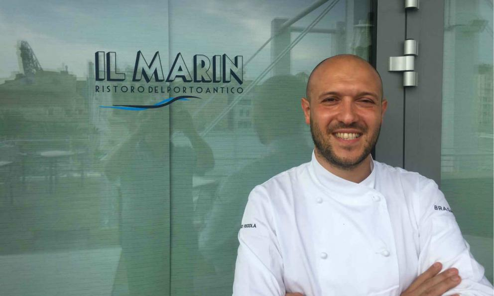 Marco Visciola, classe 1985, chefdel ristorante Il Marin di Eataly Genova, tra i promotori di ZenAsporto