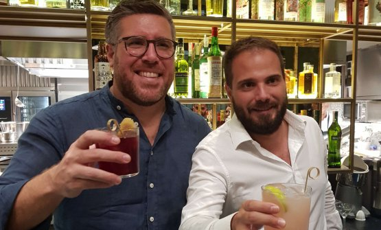 Vittorio e Saverio Borgia brindano alla nuova aper