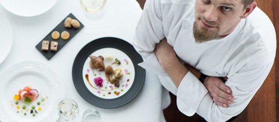 ChefGregory Czarneki, nuovo numero uno in Sudafrica