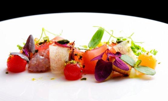 Insieme, lafermentazione di frutta e verdura e la marinatura del pesce