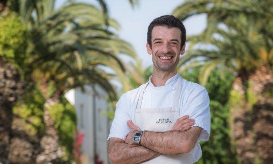 Lo chef Antonio Padula