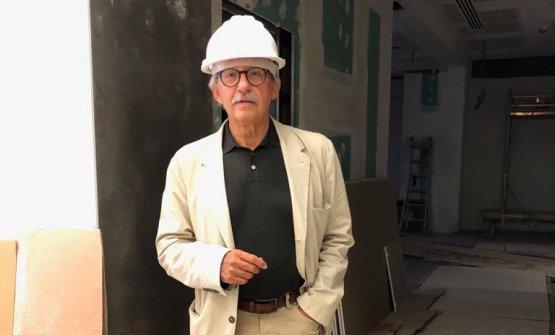 L'architetto Egidio Tordera