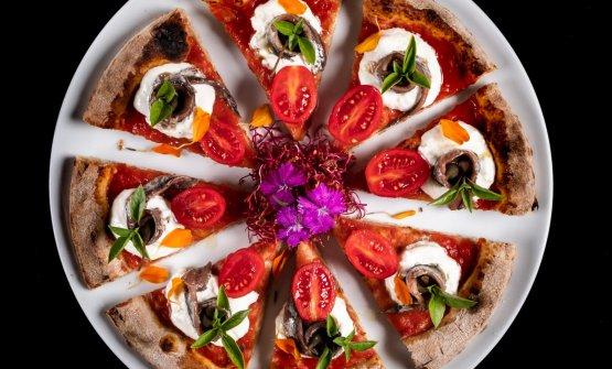 Una delle pizze di Polzella
