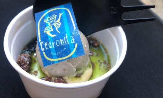 Il gelato di Moreno Cedroni