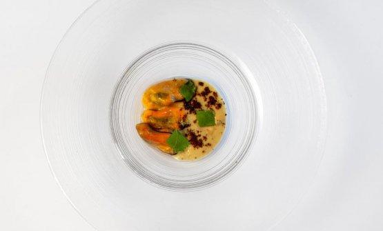 Cozze, crema d'aglio e polenta: la ricetta dell'autunno di Alberto Gipponi