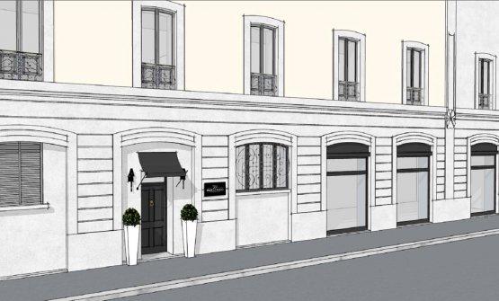 Il rendering della facciata del nuovo Felix Lo Bas