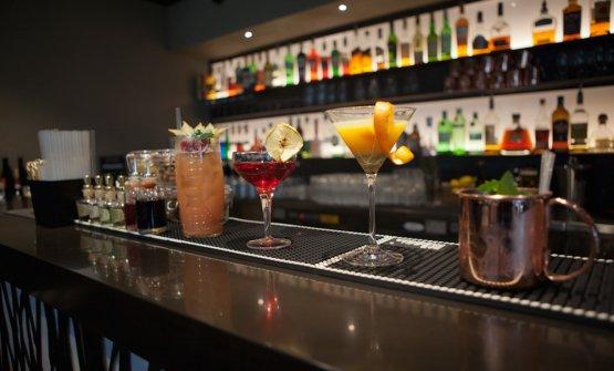 Interessante anche il lato cocktail