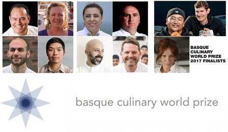 I dieci finalisti delBasque Culinary World Prize