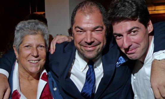 Con Raffaele e Massimiliano Alajmo