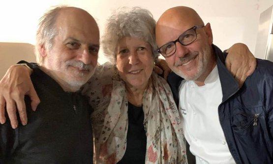 Con Corrado Assenza e Franco Pepe