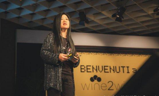 Stevie Kim, responsabile di Vinitaly International che organizza il wine2wine (foto wine2wine)