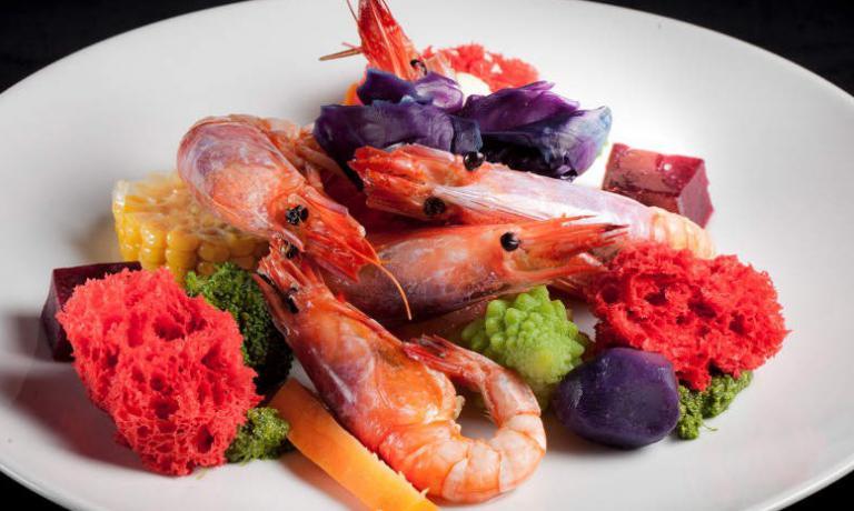 I gamberi sono uno degli ingredienti che più si ritrovano nei piatti buoni e belli di Serenella Medone, chef del Solito Posto a Bogliasco, telefono+39.010.3461040