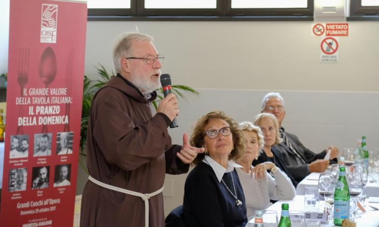 Padre Maurizio Annoni, presidente diOpera San Francesco