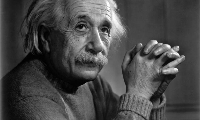 Un celebre ritratto di Albert Einstein