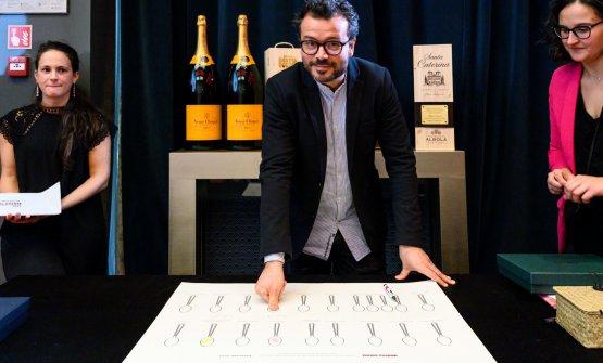 Christian Puglisi, premiato lunedì come Miglior c