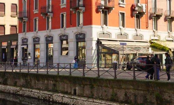 Le vetrine del neonato Maré Milano,Ripa di Port