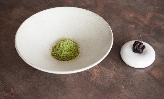 Benvenuto 2021: Acetosella, mela nera e cioccolato di Koji di Mirko Gatti